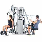 Estação de Musculação Kikos 518 BK - 4 Colunas de Peso de 96Kg cada